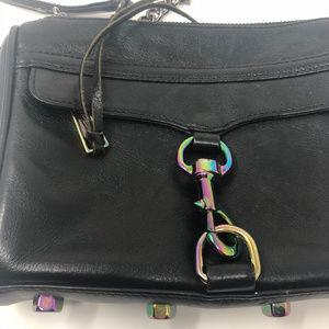 Rebecca Minkoff | Holographic Black Crossbody Bag